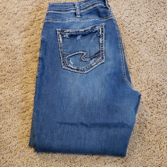 Silver Jeans Denim - Silver Jeans Suki Ankle Slim Jeans